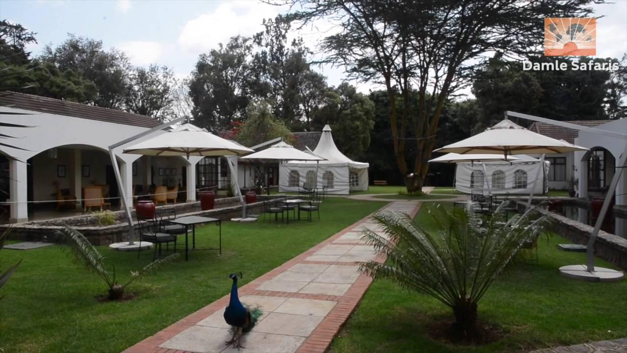 Mount Kenya Safari Club Youtube