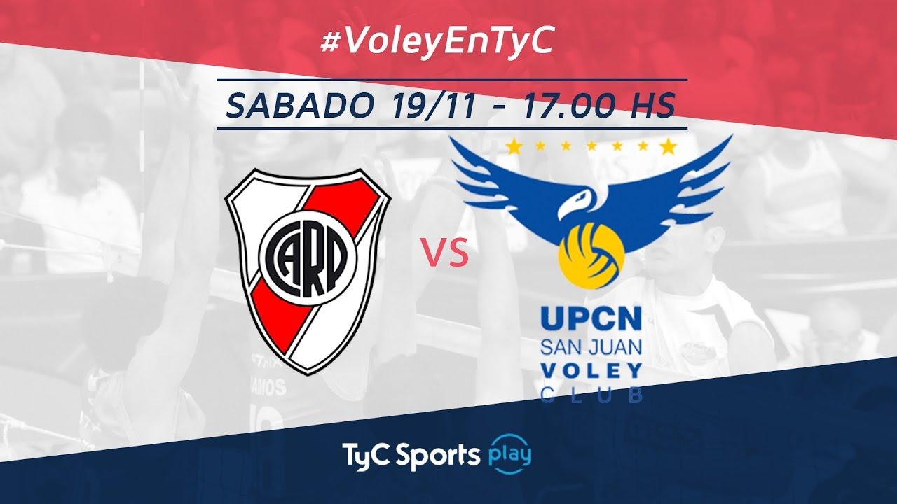 Liga Argentina: River Plate vs. UPCN l #VoleyEnTyC - YouTube