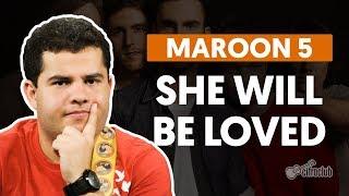 She Will Be Loved - Maroon 5 (aula de guitarra) Video
