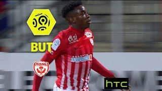 But Faitout MAOUASSA (28') / AS Nancy Lorraine - FC Lorient (2-3) -  / 2016-17