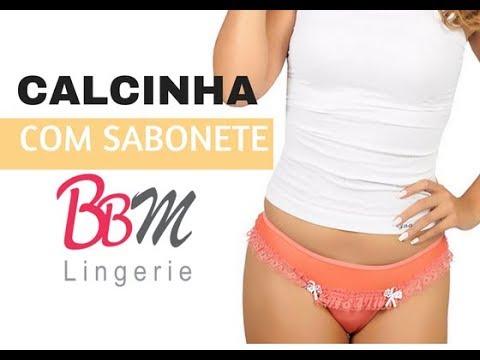b5c0d4db8 Calcinha Sabonete com Renda e Tuly - BBM LINGERIE - YouTube