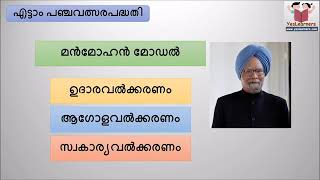 Eighth Five Year Plan    Indian Economy   Kerala PSC Coaching Segment 0 x264