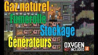 Tout savoir sur le gaz naturel : équiper la fumerolle et établir une salle de générateurs