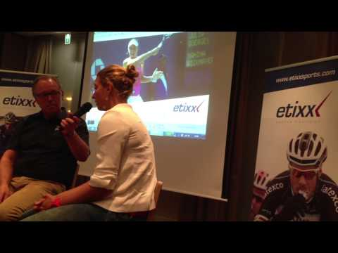 Interview Yanina Wickmayer @ Advisors Course Hasselt