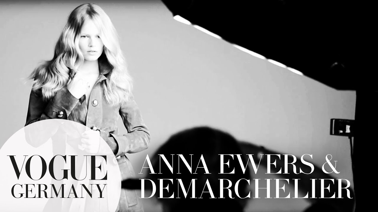 Patrick Demarchelier fotografiert Anna Ewers Cover Shoot bts fashion | VOGUE Behind the Scenes