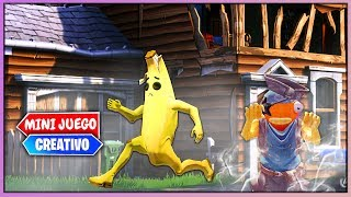 PARKOUR FANTASMA EN *MANSION ENCANTADA* (FORTNITE MINIJUEGOS)