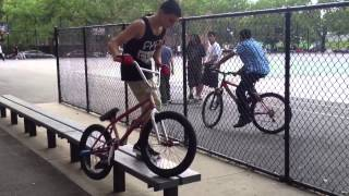 How to Feeble 180 Bmx