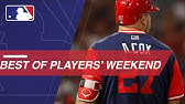 8a85223a417 Bryce Harper s Warstic BH34 Ash Bat for Players  Weekend - YouTube