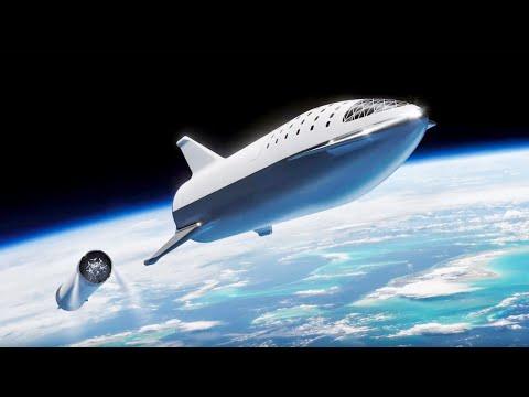 ИЛОН МАСК ПОКАЗАЛ STARSHIP - готовый экспериментальный космический корабль SpaceX