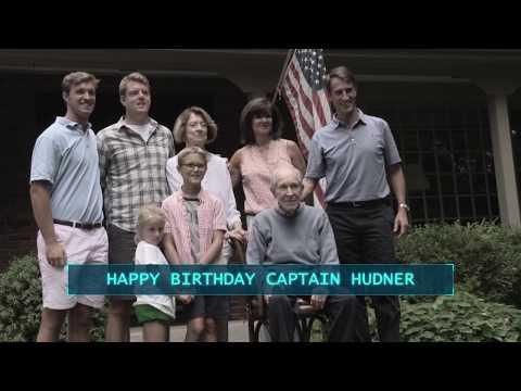 Medal Of Honor Captain Tom Hudner Birthday Surprise