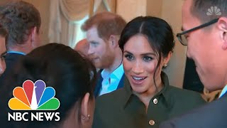 'The Upcoming Baby:' Expectant Father Prince Harry Gets Tongue-Tied In Australia | NBC News