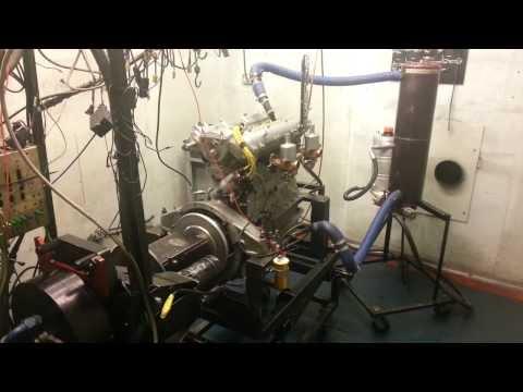 Alfa Romeo 6C 1750 engine rebuild dyno session