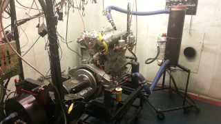Alfa Romeo 6C 1750 engine rebuild dyno session
