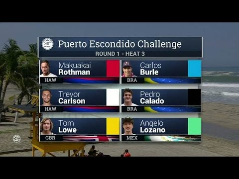 Puerto Escondido Challenge Round One, Heat 3