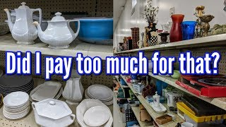 Thrifting Along with Me at Goodwill+Bonus Thrift Haul-Project Thrift 52 Week 47