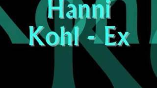 Hanni Kohl - Ex (LYRICS)