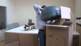 Сборка и установка автоматического кошачьего туалета Литтер-Робот, Litter-Robot.ru