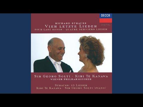 R. Strauss: Caecilie, Op.27, No.2 mp3