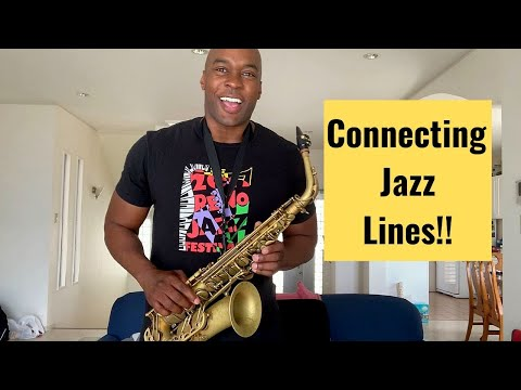 How To Connect Jazz Lines And Phrases