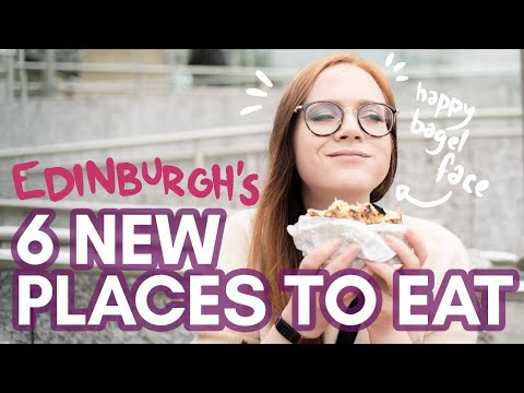 6 NEW PLACES TO EAT in EDINBURGH   post-lockdown autumn 2020 tips