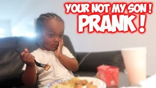 I TOLD MY SON I WASNT HIS DADDY !!!!