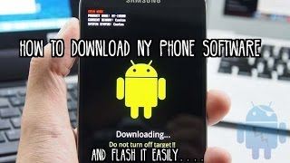 How to Download Any Smartphone Software ? And Flash It.....Easily