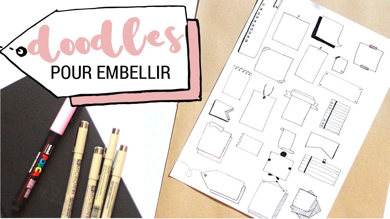 Calligraphie petits dessins pour embellir 2 youtube - Dessin pour petit ...