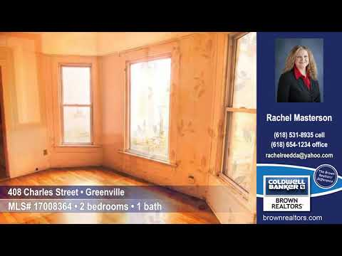 408 Charles Street, Greenville, IL 62246 $38,000 Home for Sale