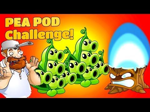 Plants Vs. Zombies 2 Gameplay Pea Pod Challenges