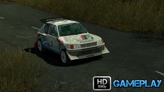 Colin McRae Rally 04 Gameplay : Peugeot 205 T16 Evo 2
