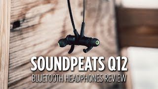 soundpeats Q12 Bluetooth Earphones Review - Worth The Money?