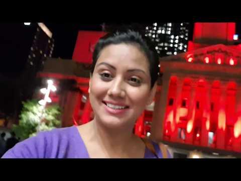 Brisbane At Night | Cabin Crew | Mamta Sachdeva | Aviation | Travel | Hindi| | Live|