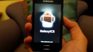 Samsung Galaxy Ace Ice Cream Sandwich Installation