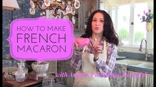 How to Make French Macaron - In Depth with Parisienne Farmgirl