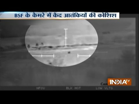 Pakistani Terrorists Caught While Entering India, Infiltration Exposed at Indo-Pak Border