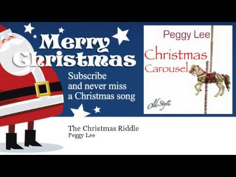 Peggy Lee - The Christmas Riddle mp3