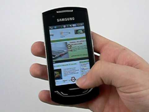 Samsung S5620 Monte - Wi-Fi a Internet