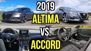ULTIMATE MIDSIZER -- 2019 Nissan Altima SR vs. 2019 Honda Accord Sport: Comparison
