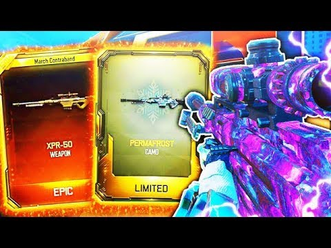 DARK MATTER XPR-50 NEW SNIPER RIFLE GAMEPLAY in BLACK OPS 3! - BO3 XPR-50 SUPPLY DROP OPENING DLC!