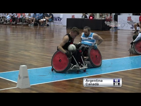 IWRF Americas Wheelchair Rugby Paraguay