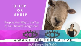 Sleep Your Way to the Top of Your Natural Energy Supply #wakeup feelalive