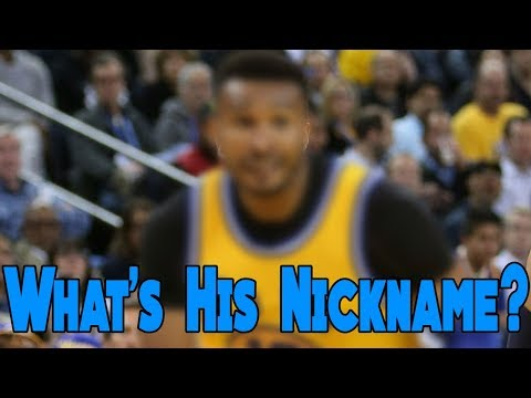 DO YOU KNOW THESE UNCOMMON NBA NICKNAMES?