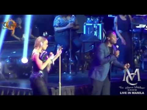 MARIAH CAREY & TREY LORENZ - I'll Be There (The Elusive Chanteuse Show Manila 2014!)