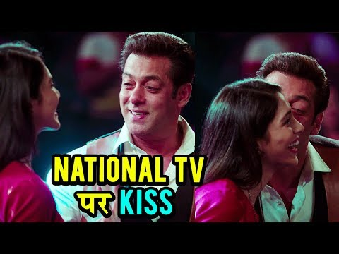 Salman Khan KISSES A Girl On National TV |...