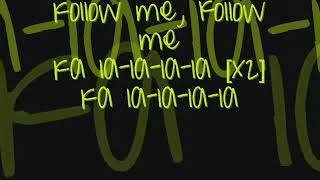 3OH!3 Feat. Neon Hitch- Follow Me Down ((LYRICS ON SCREEN & DOWNLOAD LINK!))