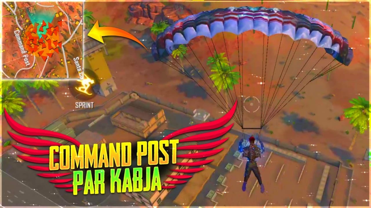 King Of Command Post 😂 || Command Post Par Kabja || Free Fire - Desi Gamers