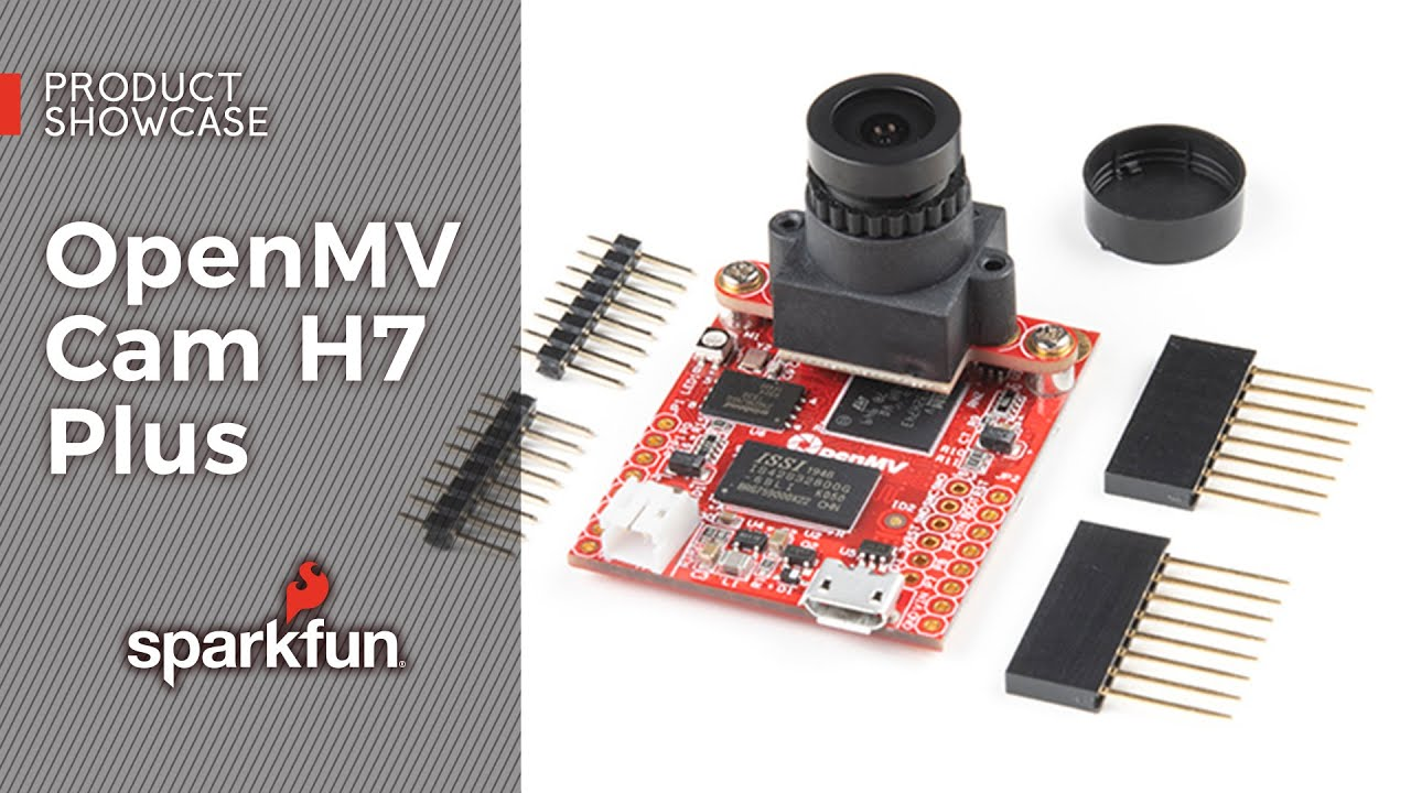 Product Showcase: OpenMV Cam H7 Plus