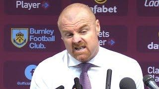 Burnley 0-1 Manchester United - Sean Dyche Post Match Press Conference - Premier League #BURMUN
