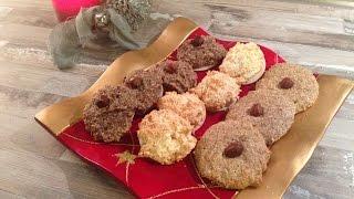 #Vorweihnachtszeit 3: Zimt, Kokos- und Haselnussmakronen