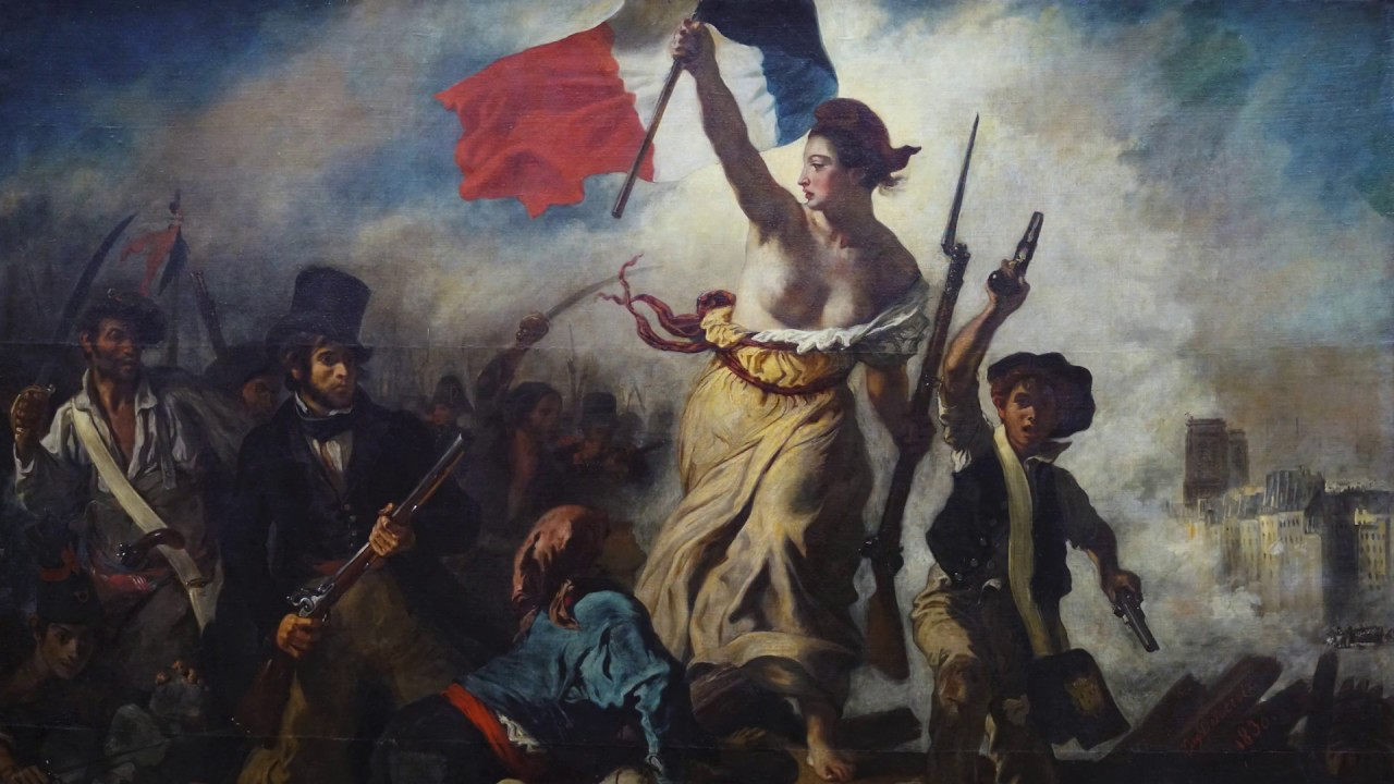 Image result for painting liberty leading 1832